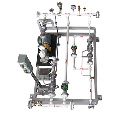 LPG FEED PUMP SKID (SIMPLEX)