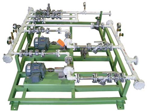 LPG FEED PUMP SKID (DUPLEX)