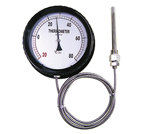 Liquid filled thermometer