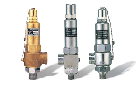 LINE SAFETY VALVE (ANGLE TYPE)